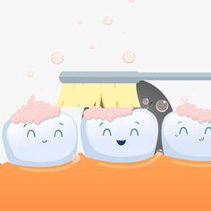 Escovar OS dentes, vector cartoon,Dor de dente,Desenhos animados de hemorragia gengival,O Dentista Dr.,Dor de dente,OS dentes.,Tratamento DOS dentes,Dor de dente