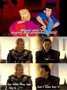 Thor & Loki #Thorki