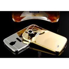 Etui MIRROR BUMPER + szkło SAMSUNG GALAXY S4 i9500