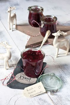 Jam Recipes, Homemade Crafts, Winter Time, Chocolate Fondue, Preserves, Oreo, Food And Drink, Drinks, Cooking
