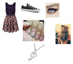 Untitled #43 by xoxox-hannah-xoxox on Polyvore featuring polyvore, beauty, MaBelle and Converse