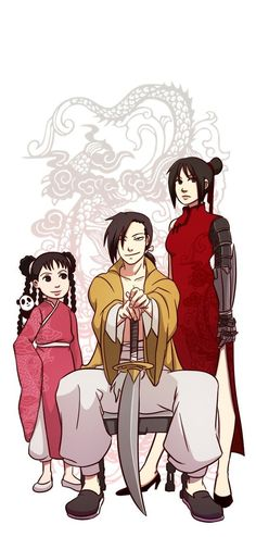 May Chang, Ling Yao, and Lan Fan // these characters from Xing were such a gem // Fullmetal Alchemist Brotherhood