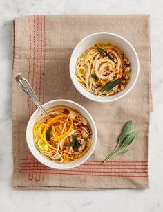 Butternut Squash & Noodle Pasta