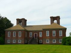 Stratford Hall (plantation), 1725 -- Westmoreland County, Virginia