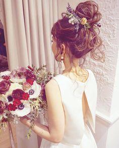 Wedding Invitations Near Me Refferal: 8832281882 Formal Hairdos, Girls Hairdos, Flower Crown Hairstyle, Hair Arrange, Bridal Hair Flowers, Wedding Hair Accessories, Bride Hairstyles, Bridal Makeup, Hair Inspiration