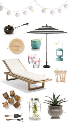 Summer Essentials: For the Yard |   Read more - http://www.stylemepretty.com/living/2013/07/15/summer-essentials-for-the-yard/