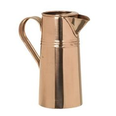 Copper Jug: This copper jug is a simple and classic design perfect for adorning a kitchen counter.