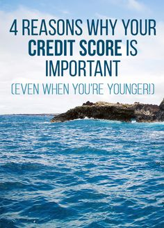 Think you're too young to care about your credit score? Think again! Find out the 4 reasons why your credit score matters and how it can impact your finances.