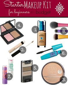 Starter makeup for beginners on a budget! | makingup-your-min...