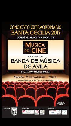 """TietarTeVe en Gredos: 25 Noviembre: Concierto de Santa Cecilia 2017 """"Mús..."""