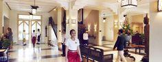 Raffles Grand Hotel d'Angkor, lobby