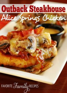 Alice Springs Chicken. I like to use pork chops instead!