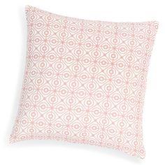 VERA cotton cushion cover, pink, 40 x 40 cm