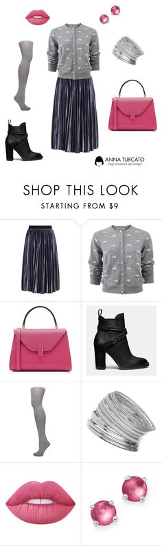 """Glamour Lady"" by annaturcato ❤ liked on Polyvore featuring Marc Jacobs, Valextra, Coach, Dorothy Perkins, Miss Selfridge, Lime Crime and Ippolita"