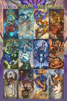 Fantasy, supernatural girls and godesses come together for a unique zodiac 2016 calendar which will be for sale Late august.