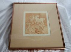 Unicorn Print Framed Numbered 13 of 150 Dated Signed by VistaChick