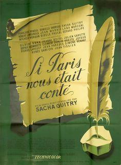 Affiche : Si Paris nous était conté (mod B) in DVD, cinéma, Objets de collection, Affiches, posters | eBay #chrisdeparis 165€