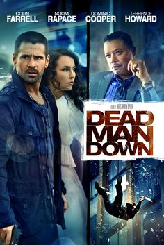 Dead Man Down Movie Poster - Colin Farrell, Noomi Rapace, Dominic Cooper…