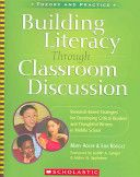a #QEDebook is Building Literacy Through Classroom Discussion by Mary Adler & Eija Rougle