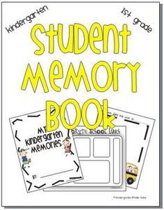Is the school year coming to an end?  Are you looking for a great end of the year gift or a way to remember a great school year?  This is the memor...