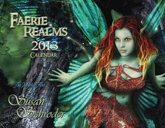 Susan Schroder 2013 Faerie Realms Calendar. $13.00, via Etsy.