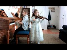 """It was kind of a late notice, so [she] had only 3 days to learn a song on her violin.  She practiced a couple of different songs, but in the end, the one that sounded best was """"Families Can Be Together Forever"""", so that is what she played. See more of young violinist #daughterA_from_beckalynn3"""