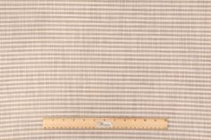 14 Yards Richloom Austere Printed Linen Drapery Fabric in Cocoa