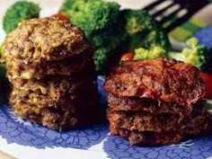 Meatloaf, Steak, Muffin, Good Food, Breakfast, Desserts, Recipes, Koti, Dinners