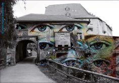 #Kunst #Gelage #Otzberg #Veste #digitaleMontage #Augen