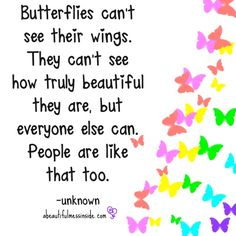 Butterflies cant see their wings pinned with Bazaart