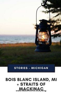 Bois Blanc Island in Michigan and Straits of Mackinac - Fun in Michigan - Travel Michigan Michigan Travel, Lake Michigan, Wisconsin, Mackinaw City, Romantic Weekend Getaways, Best Family Vacations, Mackinac Island, Lake Life, Great Lakes