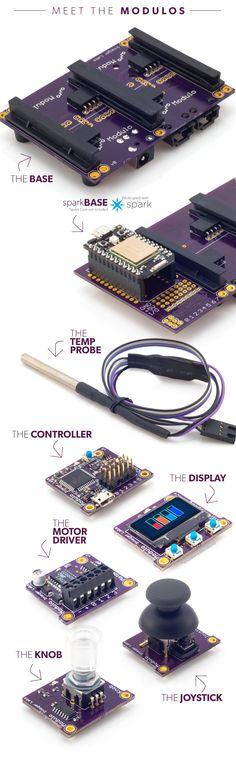 Modulo: A simple, modular solution for building electronics. by Modulo Labs LLC — Kickstarter