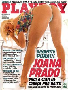 Revistas Happy Hour: Revista Playboy Abril 2002 - Joana Prado
