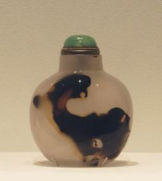 "Each bottle in the exhibit ""Small Delights: Chinese Snuff Bottles"" is a marvel of materials carefully crafted to produce an object of..."