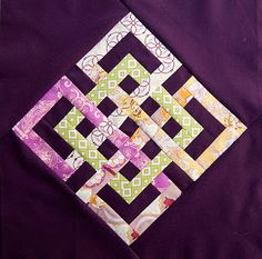 New Patchwork Quilting Patterns Celtic Knots Ideas Celtic Quilt, Quilt Block Patterns, Pattern Blocks, Quilt Blocks, Quilting Tutorials, Quilting Projects, Quilting Designs, Quilting Ideas, Quilt Design