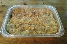 Chicken tetrazzini is not only scrumptious and crowd-pleasing, but it is the perfect make ahead, freezer friendly meal. I keep a pan or two of this in my freezer to pull out for company, and they never know that I didn't slave all day in the kitchen! Chicken Tetrazzini is an all-time f