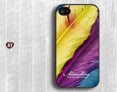 iphone case Hard case Rubber case iphone 4 case by Atwoodting, $6.99