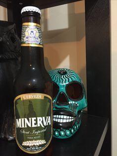 Minerva Stout Imperial. Cerveza mexicana