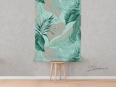 Removable wallpaper Exotic Palms Wallpaper Exotic