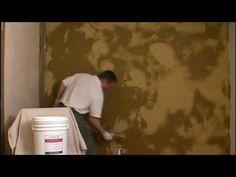 Venetian Plaster Basic Skip Trowel Application Video (short version) by Modern Masters - YouTube
