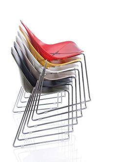 N° 04 Sedia X SLED a slitta - ALMA DESIGN - arredogiardini.it Sled, Chair, Furniture, Design, Home Decor, Lead Sled, Decoration Home, Room Decor