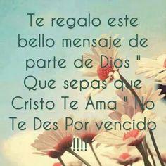 Cristo te ama! <3