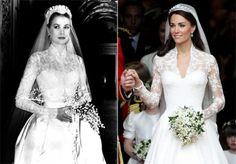 grace kelly compared to kate middleton.