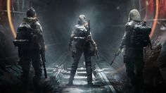 The Division Underground Game Agents Wallpaper