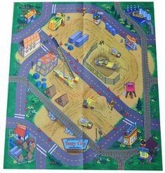 Braided Rug Amazon Construction Site Felt Play Mat Toys u Games