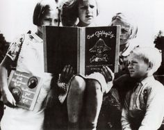 german children reading the poison mushroom tale about the Jewish people??
