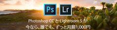 写真家向けプログラムでCreative Cloudが月額1000円に | Naisanpo