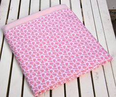 Sweetest Pink Cotton and Minky Home Size Baby by ChubbyLove, $45.00