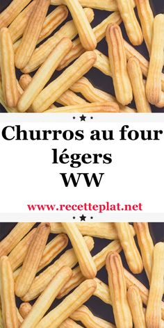 Churros au four légers WW - Best Pins France Healthy Dinners For Two, Easy Meals, Churros Au Four, Baked Churros, Easy Chicken Recipes, Healthy Dinner Recipes, Plats Weight Watchers, Ww Desserts, Health Dinner