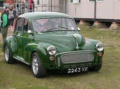Very smart modified Moggy Cool Old Cars, Cute Cars, Retro Cars, Vintage Cars, My Dream Car, Dream Cars, Old Fashioned Cars, Mini Morris, Morris Minor